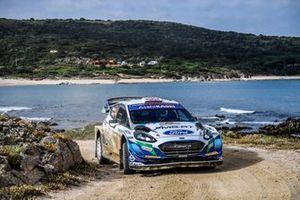Gus Greensmith, Stuart Loudon, M-Sport Ford WRT Ford Fiesta WRC