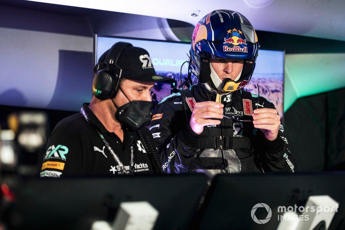 Johan Kristoffersson, Rosberg X Racing, en el centro de comando