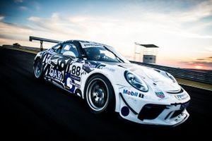 Carro de Georgios Frangulis na Porsche Cup