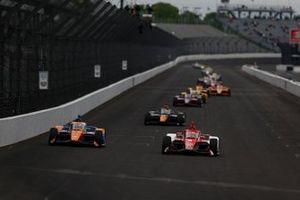 Scott Dixon, Chip Ganassi Racing Honda, Marcus Ericsson, Chip Ganassi Racing Honda