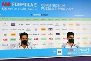Lucas Di Grassi, Audi Sport ABT Schaeffler, Sergio Sette Camara, Dragon Penske Autosport