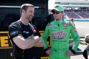 Erik Jones, Joe Gibbs Racing, mit Chris Gayle