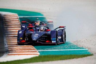 Sam Bird, Envision Virgin Racing, Audi e-tron FE06, Robin Frijns, Envision Virgin Racing, Audi e-tron FE06