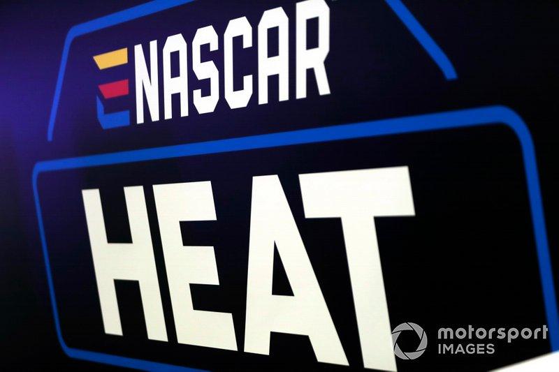 The NASCAR Heat logo