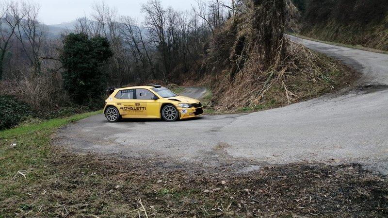 Styve Juif, Cyliane Michel, Skoda Fabia R5, Balbosca Rally Team