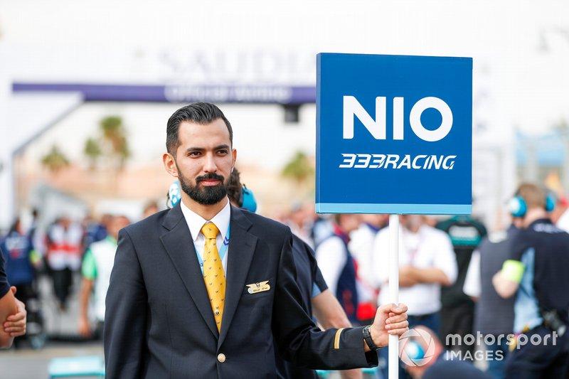 NIO 333 Racing grid person