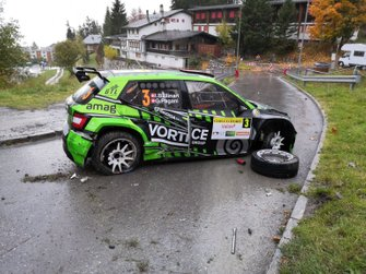Ivan Ballinari, Giusva Pagani, Skoda Fabia R5, Lugano Racing Team