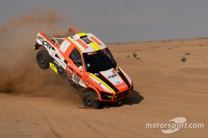 Авария: Мартин Коломы и Иржи Стросс, MP-Sports, Ford Raptor RS Cross Country (№339)