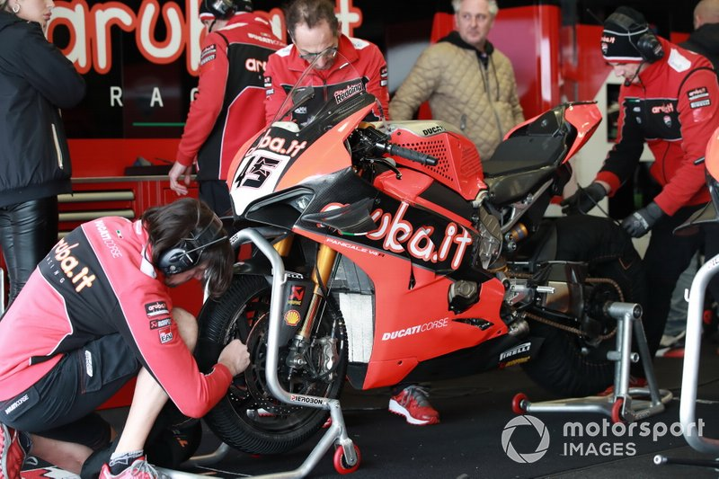 La moto di Scott Redding, Aruba.it Racing Ducati