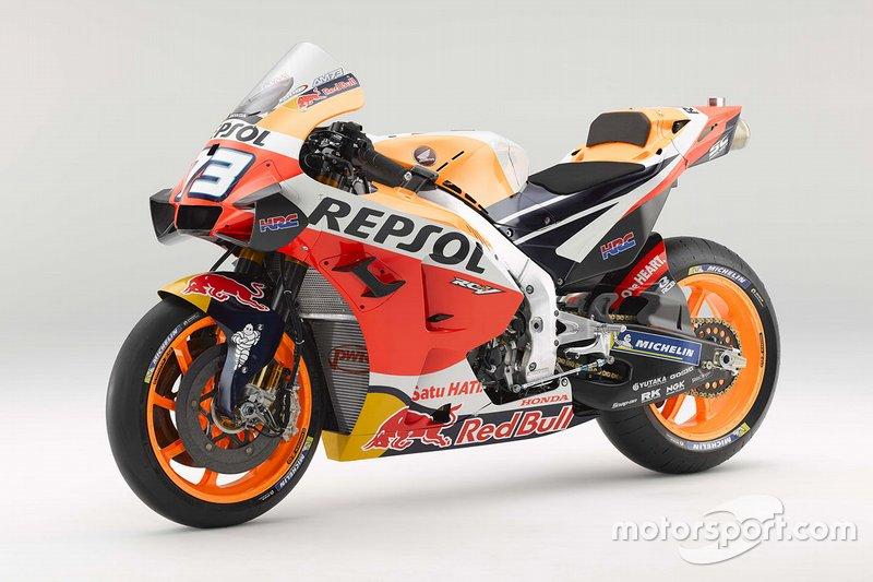Moto de Alex Marquez, Repsol Honda Team