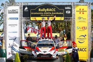Champion Ott Tänak, Martin Järveoja, Toyota Gazoo Racing WRT Toyota Yaris WRC