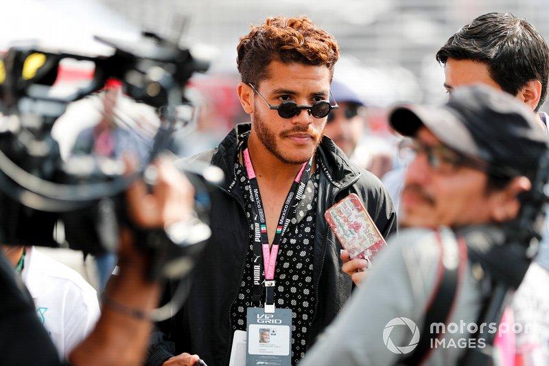 Гран При Мексики: футболист Джонатан дос Сантос