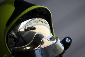 Riflesso della #163 Huracan Super Trofeo Evo, Change Racing: McKay Snow