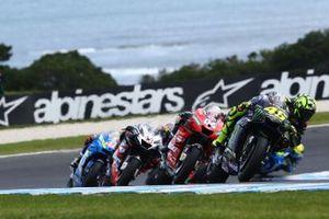 Valentino Rossi, Yamaha Factory Racing, Andrea Dovizioso, Ducati Team, Jack Miller, Pramac Racing, Alex Rins, Team Suzuki MotoGP