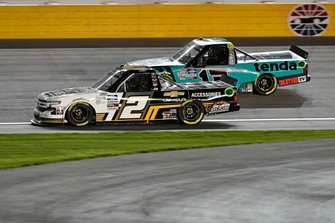 Sheldon Creed, GMS Racing, Chevrolet Silverado Chevy.com /Trench Shoring, Johnny Sauter, ThorSport Racing, Ford F-150 Tenda