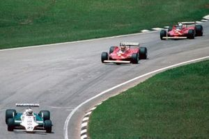 Alan Jones, Williams, Gilles Villeneuve, Ferrari, Jody Scheckter, Ferrari