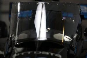La innovación de la seguridad del Aeroscreen en el NTT Data Honda