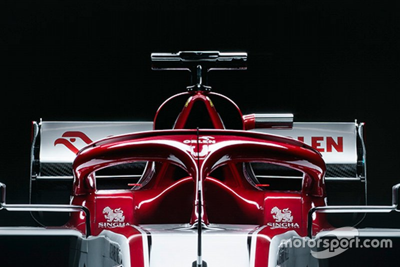 Detalle del Alfa Romeo C39