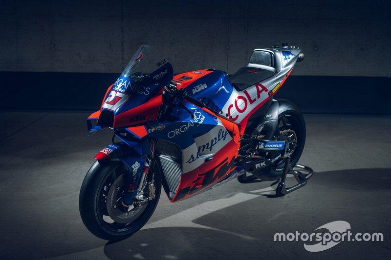 Moto de Iker Lecuona, Red Bull KTM Tech 3