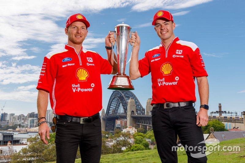 winners Scott McLaughlin, Alexandre Prémat, DJR Team Penske