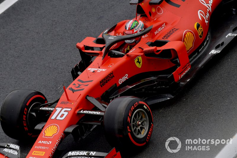 14: Charles Leclerc, Ferrari SF90, 1'07.728 (inc 10-place grid penalty)
