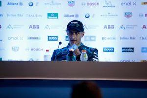 Mitch Evans, Jaguar Racing, 3ª posición en la rueda de prensa de los pilotos