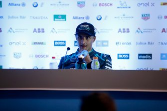 Mitch Evans, Jaguar Racing, 3rd position in the drivers press conference