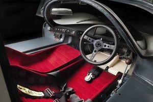 Cockpit de la Porsche 908 Short Tail Coupe 1968