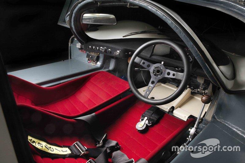 1968 Porsche 908 Short Tail Coupe Cockpit