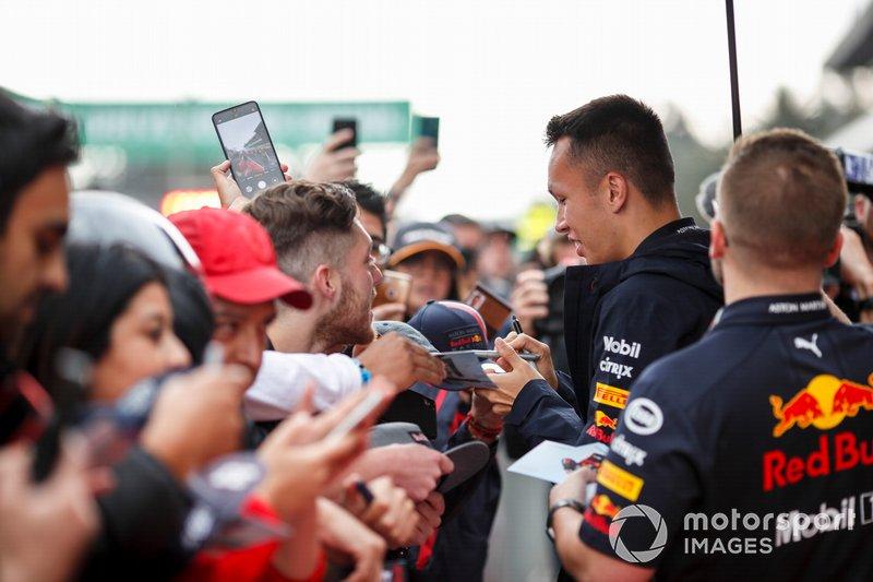 Александр Элбон, Red Bull Racing