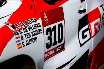 Toyota Gazoo Racing Toyota Hilux, dettaglio