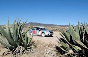 Rally winner Marcos Ligato