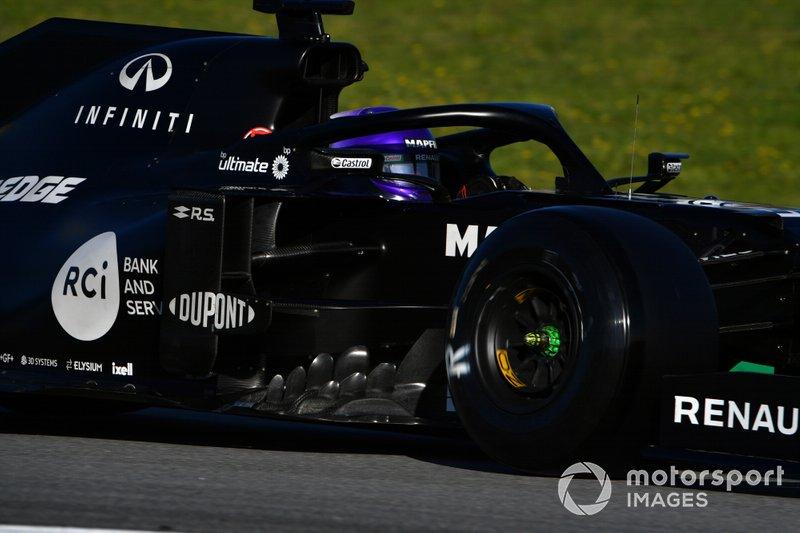 3º Daniel Ricciardo, Renault F1 Team R.S.20: 1:16.276 (con neumáticos C5 en la semana 2)