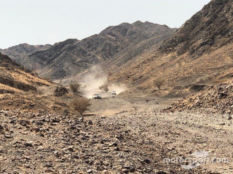 Etapa 9 (14 de enero): Wadi Al-Dawasir-Haradh (891 km, de los cuales 415 cronometrados)
