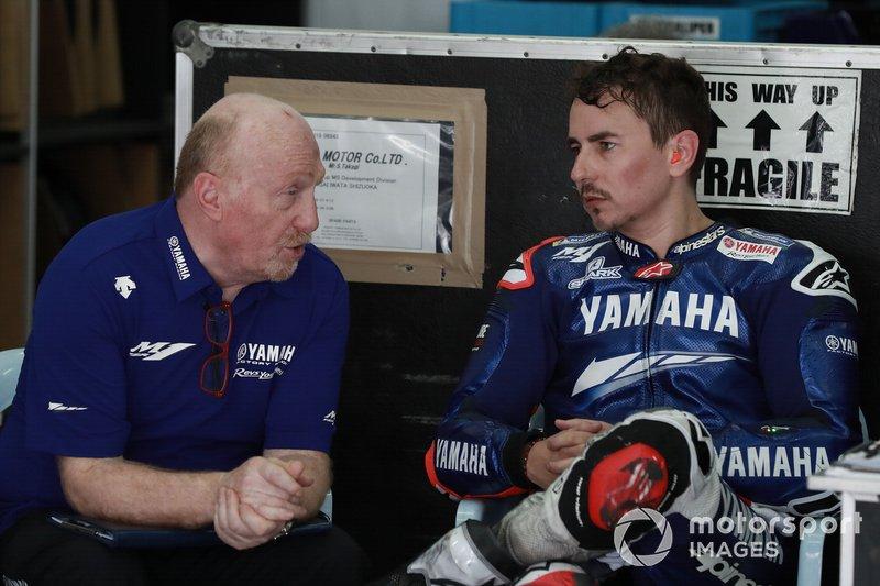 Silvano Galbusera, Jorge Lorenzo, Yamaha Factory Racing