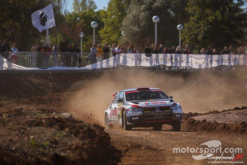 Kajetan Kajetanowicz, Maciej Szczepaniak, Volkswagen Polo R5, Rally RACC Catalunya