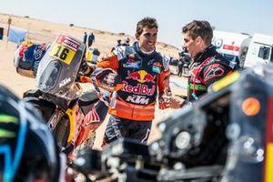 #7 Monster Energy Honda Team: Kevin Benavides, #16 Red Bull KTM Factory Racing: Luciano Benavides