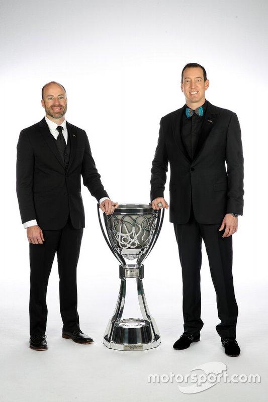 Kyle Busch y Adam Stevens