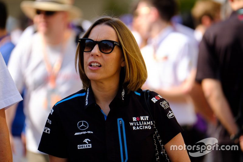 Claire Williams, Team Principal, Williams Racing
