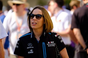 Claire Williams, vicedirectora de Williams Racing