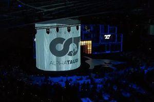 AlphaTauri livery teaser