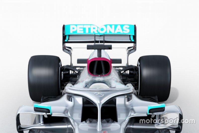 Mercedes AMG F1 W11, dettaglio tecnico