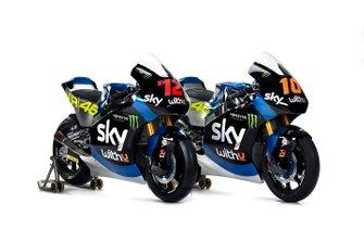 Moto de Luca Marini, Marco Bezzecchi, Sky Racing Team VR46
