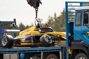 Машина Челси Херберт после аварии