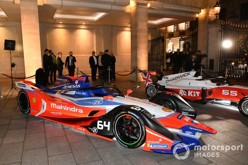 Los coches de la Fórmula E y la W Series