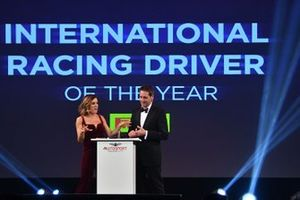Presentation of the International Racing Driver of the Year Award