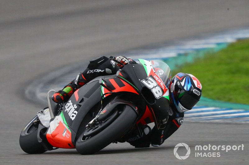 18º Bradley Smith, Aprilia Racing Team Gresini - 1:39.588