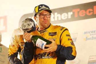 Il vincitore GTD #96 Turner Motorsport BMW M6 GT3: Bill Auberlen
