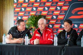 Zak Brown, Roger Penske, Michael Andretti