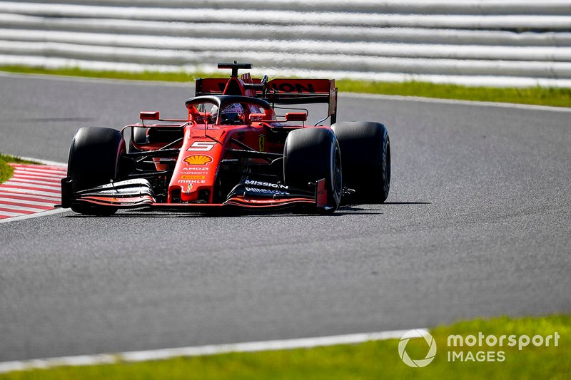 Vettel scores first pole since Canada